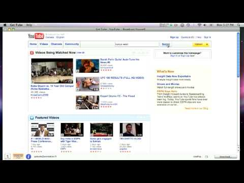 How to Download Songs & Videos off of YouTube - ON MAC - GET TUBE