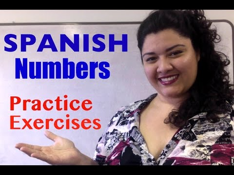 Learn Spanish Numbers- 11-50 Spanish Practice exercises- Count in Spanish