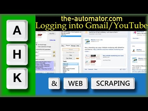Automate Login to Login to Gmail / YouTube / Google+ with AutoHotkey