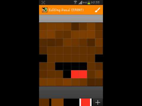 How to Make Your Own Minecraft PE Skin(Android)