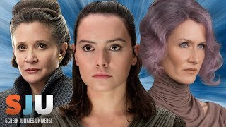 Star Wars: The Last Jedi Edit Cuts Out All Women - SJU