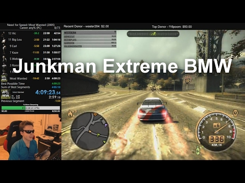 Junkman Upgraded BMW M3 GTR - NFS Most Wanted (See