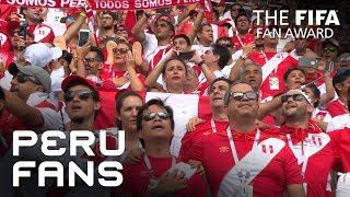 Peru Fans - FIFA Fan Award 2018 - NOMINEE