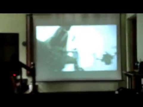 3d ready projector setup and demo