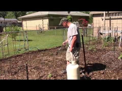 Easy Weed Control With a Propane Torch