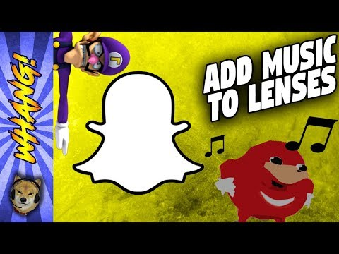How to Add Music to Your Snapchat AR Lens Characters With Lens Studio