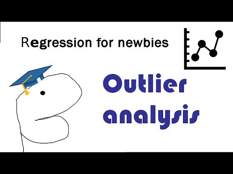 Outlier analysis in linear regression