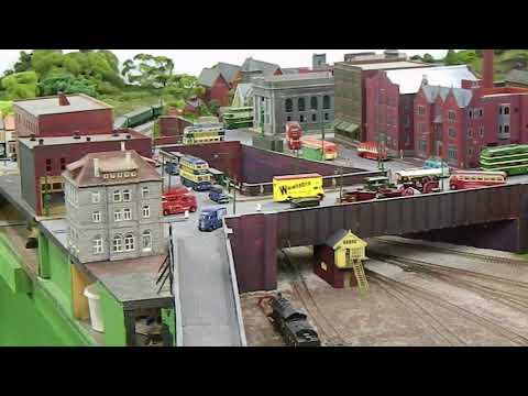 Tony's model railway - Victoria Station, Nottingham.