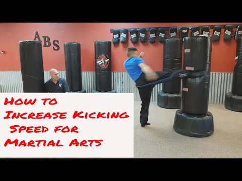 How to Improve your Kicking Speed / Martial Arts