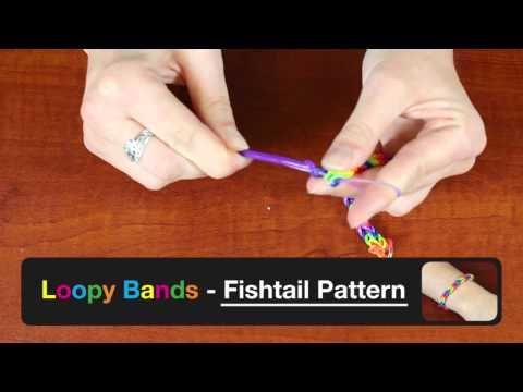 Loopy Bands Fishtail Pattern Bracelet