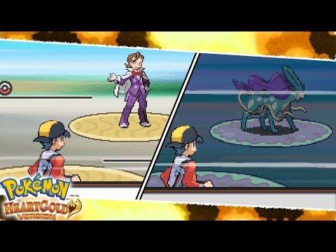 All Eusine and Suicune Encounters/Battles | Pokemon HeartGold/SoulSilver