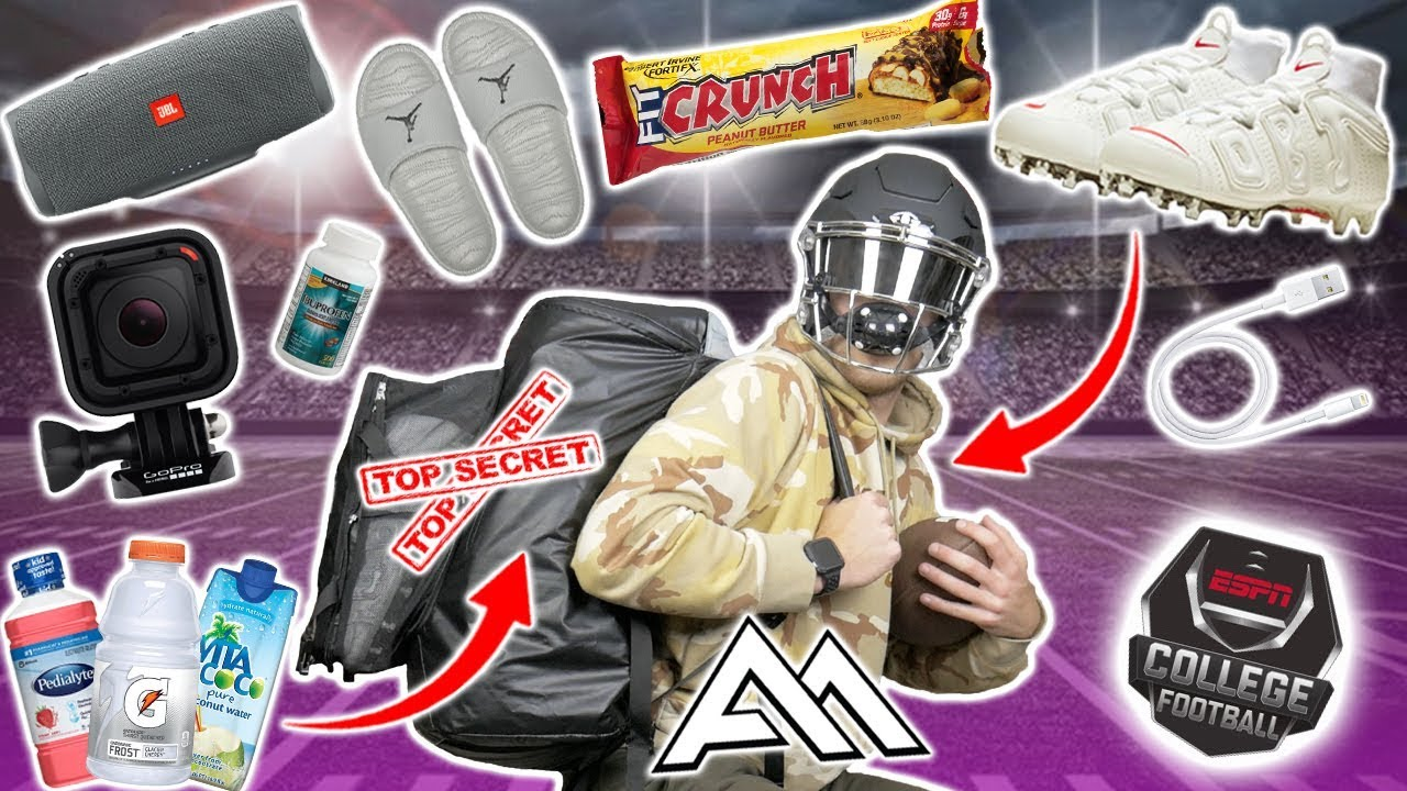 Football Gear You NEED In Your BACKPACK On Gameday