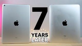 2017 iPad vs First iPad! 7 Year Comparison