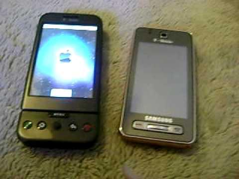 T-Mobile G1 vs samsung behold part 3