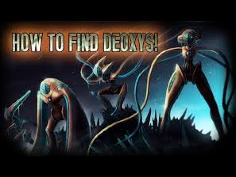 How to get deoxys in Project Pokemon!!!