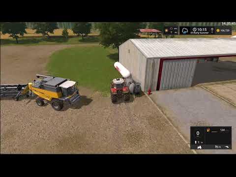 Farming Simulator 17 Timelapse #6 | South Mountain Creamery.