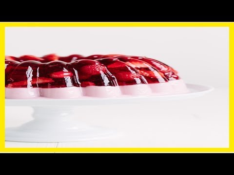 How to make a layered jello mold