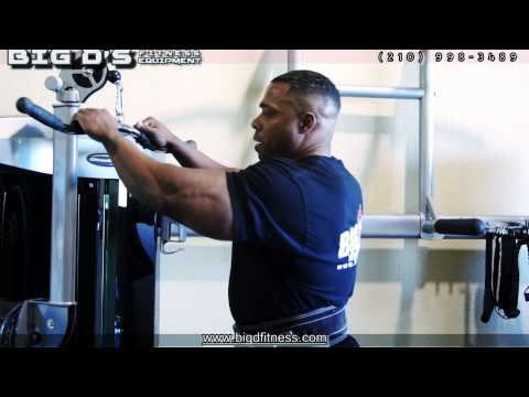 5 QUICK EXERCISES to a STRONG UPPER BODY with BIG D's FITNESS