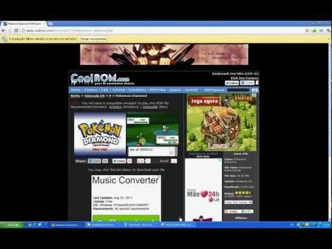 Como e onde baixar o rom de pokemon diamond para pc