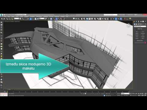 3ds Max Modeling architecture planes