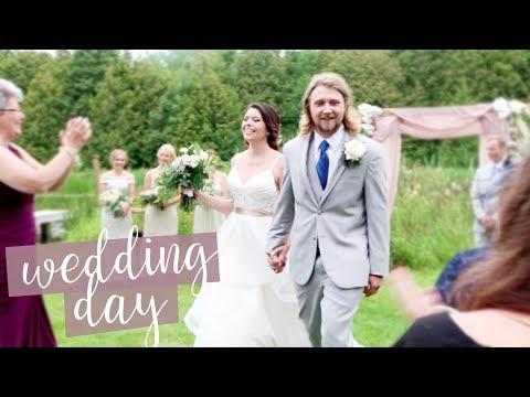 WEDDING DAY VLOG: BECKY & AUSTIN