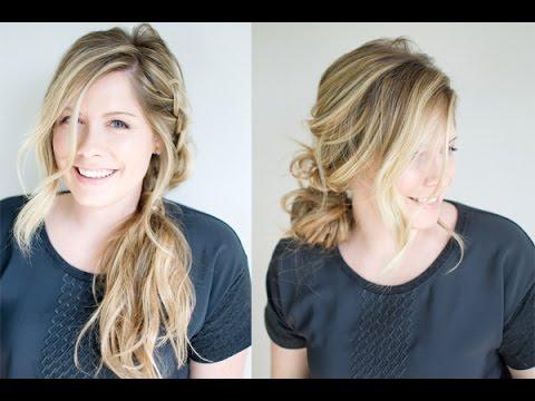 1 Braid, 2 Ways to Finish the Style