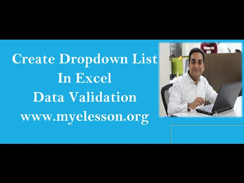 Create Dropdown List in Excel Based on Dates