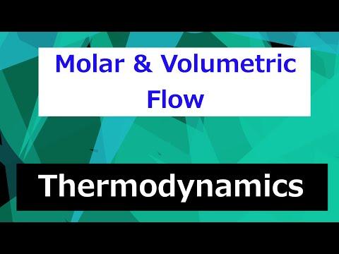 Molar Flow to Volumetric Flow // Thermodynamics - Class 14
