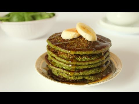 Healthy Spinach Oats Pancake for Kids