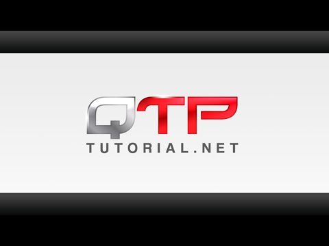 QTP tutorial 7.02-VBscript for Unified Functional Testing-How to instantiate a file system object
