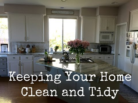 Keeping a Clean and Tidy Home