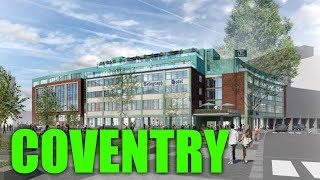 Driving Around The Uk -  Coventry City Centre