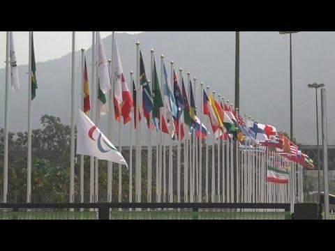 Flags at half-mast for Golbarnezhad