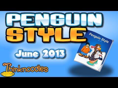 Club Penguin: June 2013 Clothing Catalog Cheats