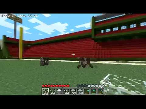 MineCraft Gillete Stadium, Fenway Park and TD Garden Tour
