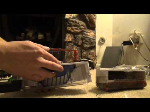 Roomba Upgrades - Battery, Brushes, & Bin = Better Robot!