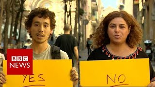 Catalan referendum: Yes or No? - BBC News