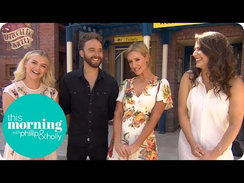 The Corrie Cast Are Loving Their Intense Storylines | This Morning