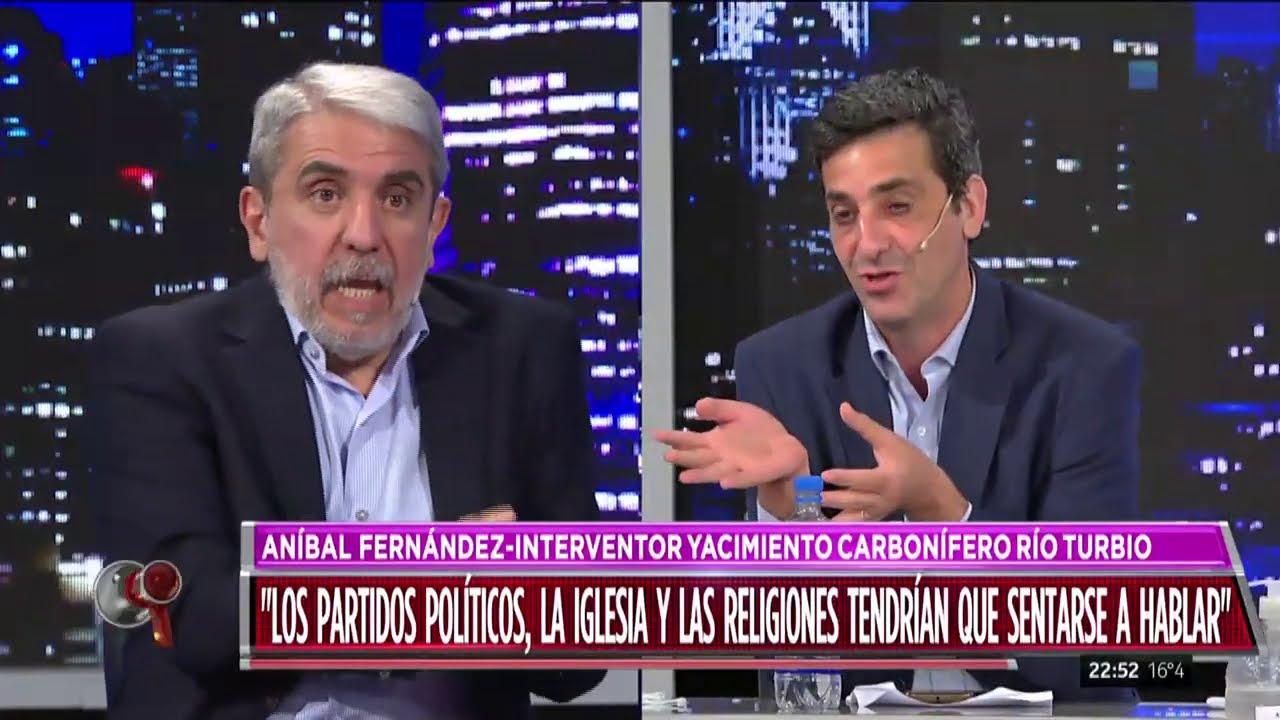 "Aníbal Fernández: ""Pocos tipos me dan tanto asco como Macri"""