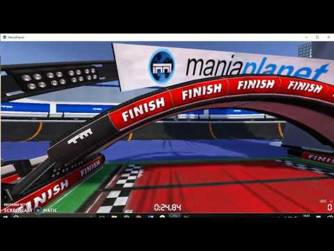 Trackmania: Racing with stunts!!!