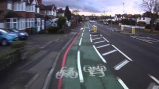 Croydon Road - Contra Flow Cycle Lane