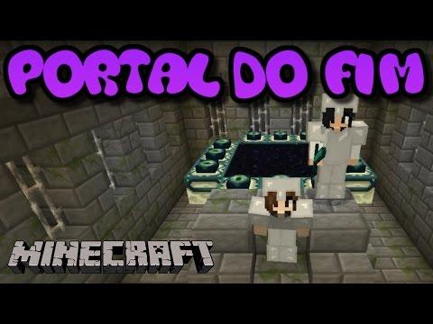 Minecraft Survival - PORTAL DO FIM (Ender Dragon) #15