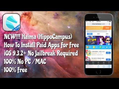 [Haima] How To Install Paid Apps For Free iOS 10.2.1, 10.3 Without A Jailbreak 100% No PC