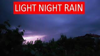 Download 8 HOURS of Light Night RAIN    For Relaxation, Deep Sleep, Insomnia, Meditation, Study Video