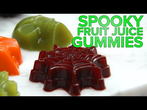 Spooky Fruit Juice Gummies