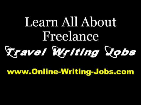 My Freelance Career : All About Freelance Travel Writing Jobs