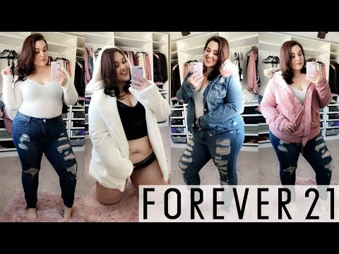 Forever 21+ Winter Try-On Haul 2018 |Fashion|