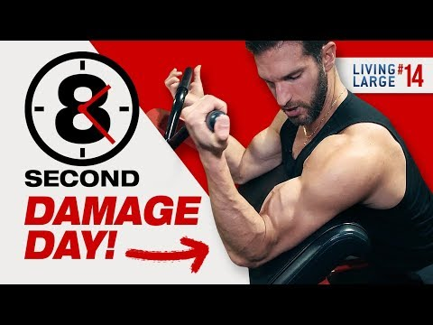 The Cure For Flat Shoulders & Puny Arms (UPPER BODY WORKOUT FOR MEN)