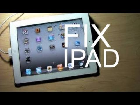 HOW TO FIX IPAD CHARGING PROBLEM USB PORT CHARGE - APPLE IPAD 1,2,3 & MINI