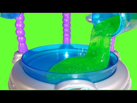 How To Make Slime - Glow in the Dark and Green Slime - Wonderology Slime Factory